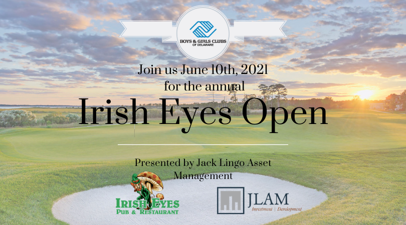 Join us June 10th, 2021 for our annual Irish Eyes Open. Presented by Jack Lingo Asset Management