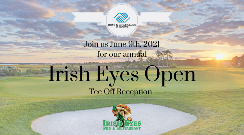 Join us June 9th, 2021 for our annual Irish Eyes Open Tee Off Reception