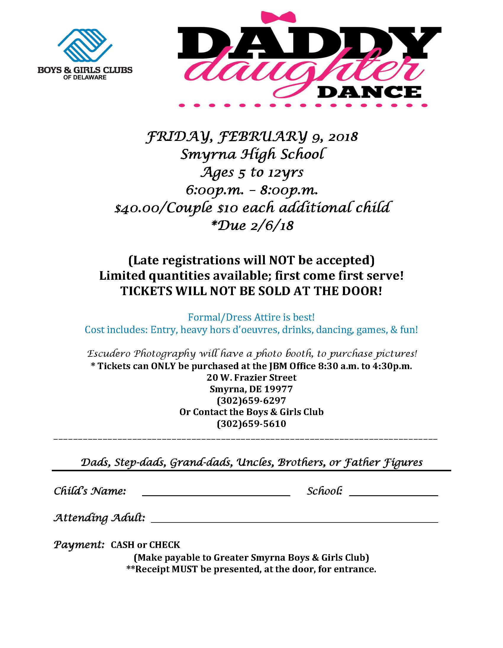 Greater Smyrna Annual Daddy-Daughter Dance
