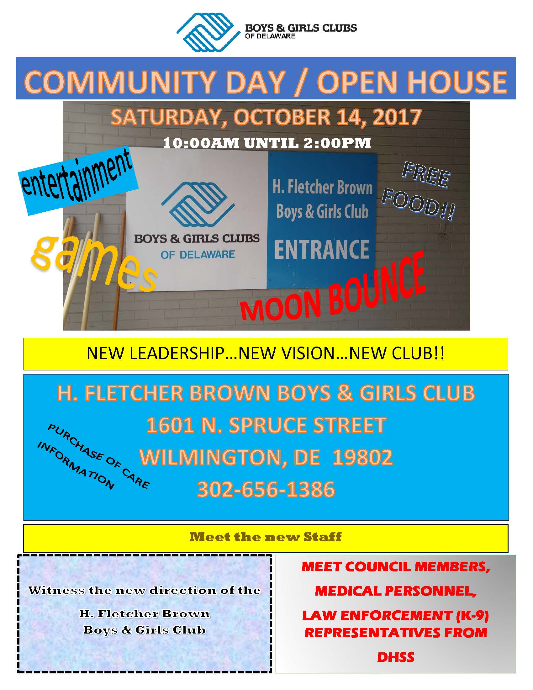 H. Fletcher Brown Community Day & Open House