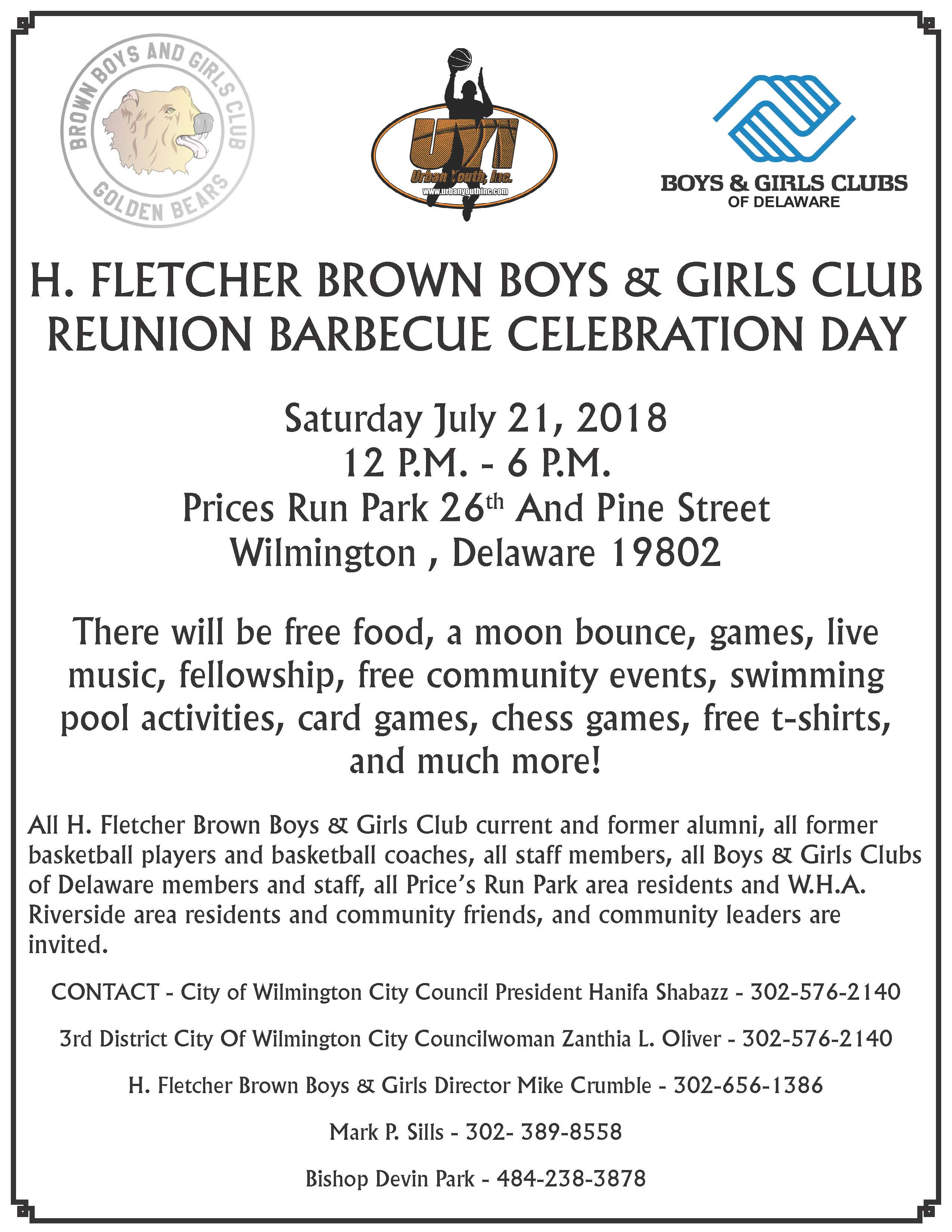 Brown Club Reunion Barbecue Celebration