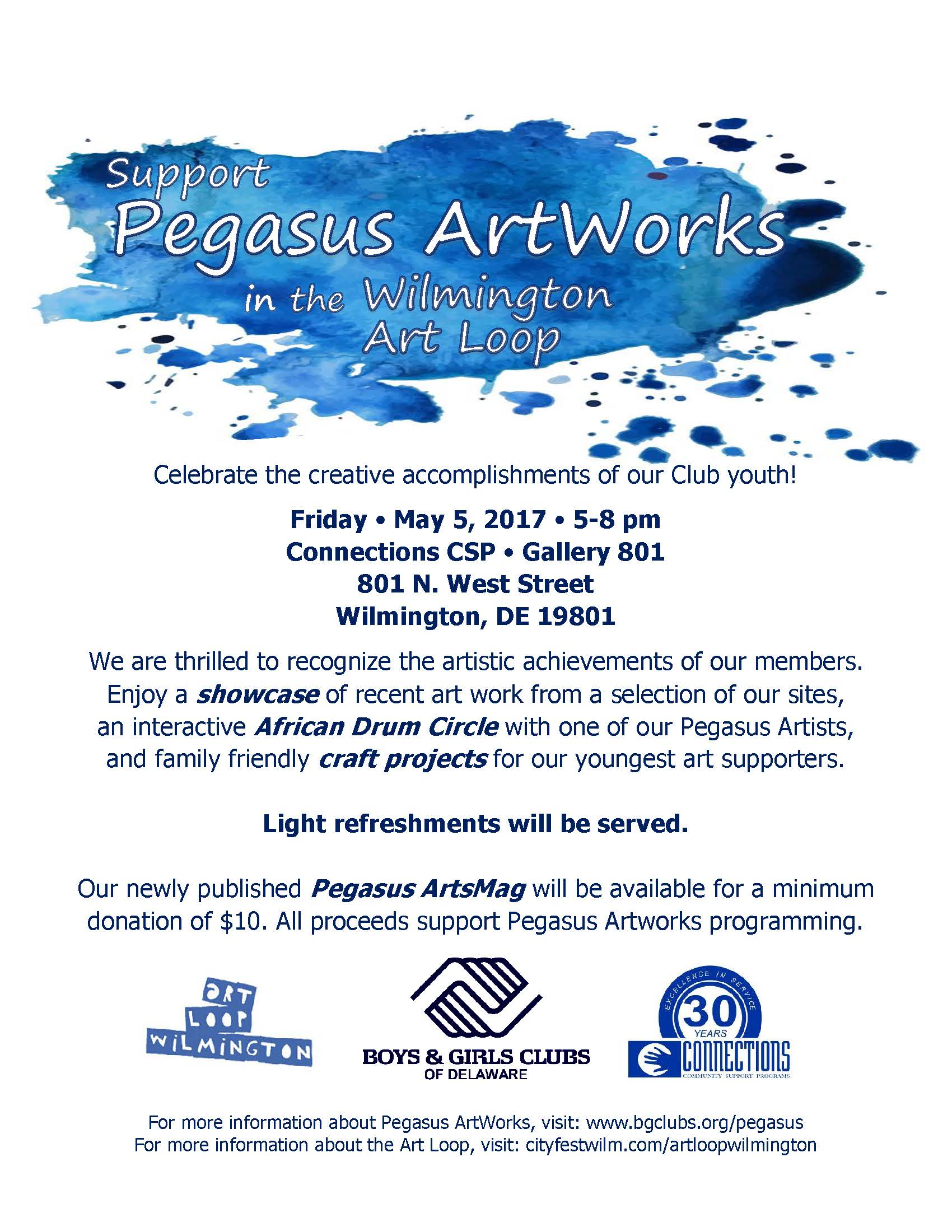 Pegasus ArtWorks – Wilmington Art Loop