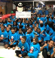 Panda Gives Day with group of Boy & Girls club students